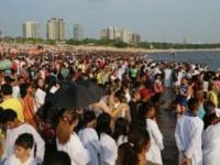 В Бразилии в один день водное крещение приняли 12 000 человек