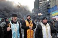 Церкви призывают остановить кровопролитие в Киеве