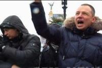 Украинские верующие молятся на Майдане за страну