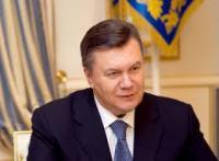 Виктор Янукович считает, что нужно быть благодарным Богу за 2013 год